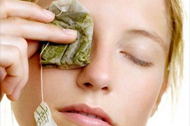 zielona herbata na zmarszczki